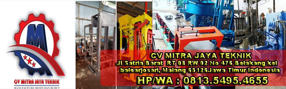 Jual Mesin paving block II mesin press batako 0813.5495.4655