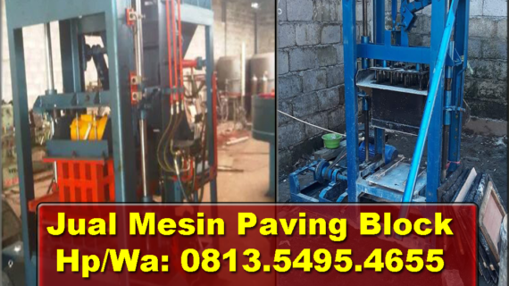 0813.5495.4655(Tsel)Jual mesin paving block di Jakarta