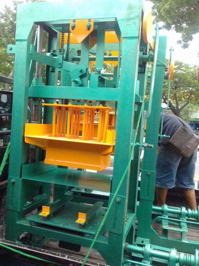 Jual mesin paving block murah di Kuningan