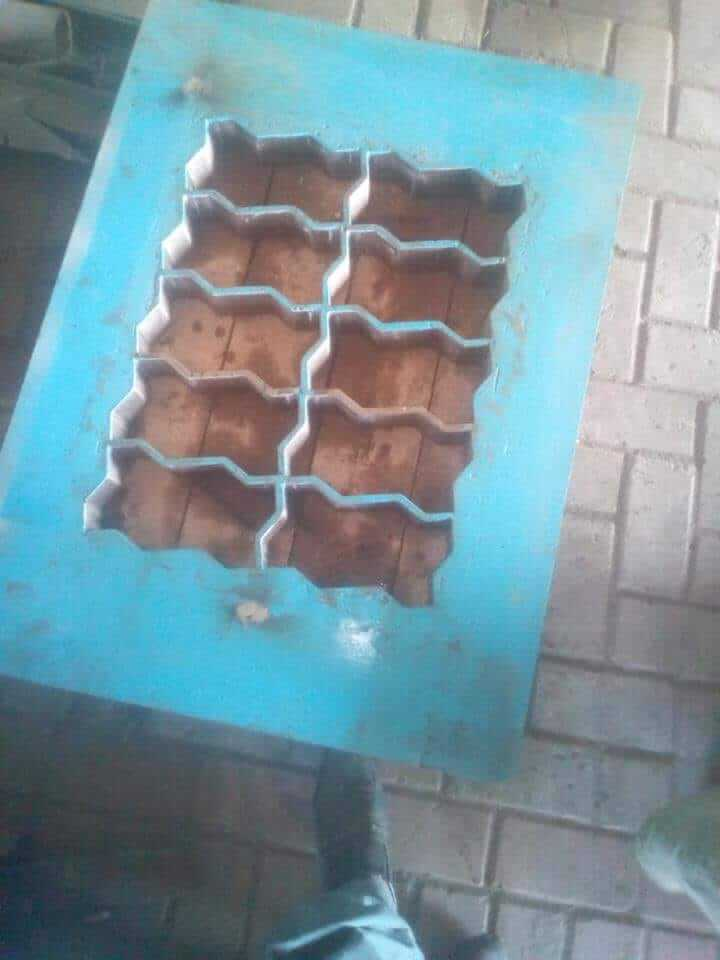 Jual mesin paving block