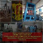 0813.5495.4655(Tsel)Jual mesin buat paving block di Batam