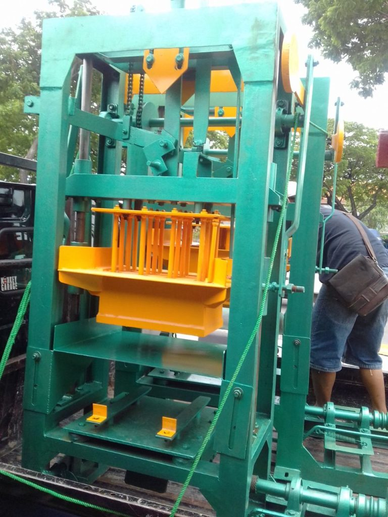 Jual mesin press batako di banyumas
