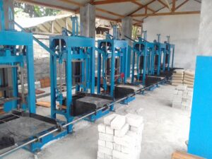 Jual mesin paving block dan mesin press batako