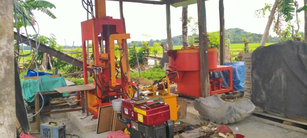 Jual mesin press batako Tuban