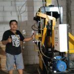 Jual mesin paving block di Sukabumi hub 0813.5495.4655