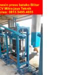 0813.5495.4655(Tsel)Jual mesin Press batako Blitar