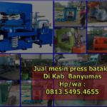 Jual Mesin press batako di Kabupaten Banyumas hub 0813.5495.4655