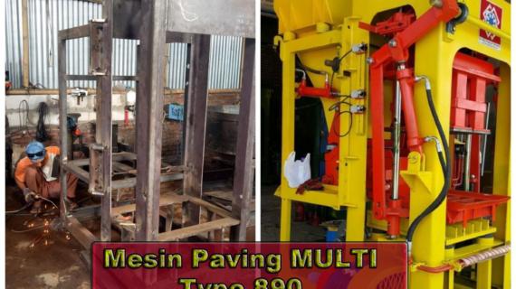 0813.5495.4655(Tsel)Jual mesin press batako dan paving block