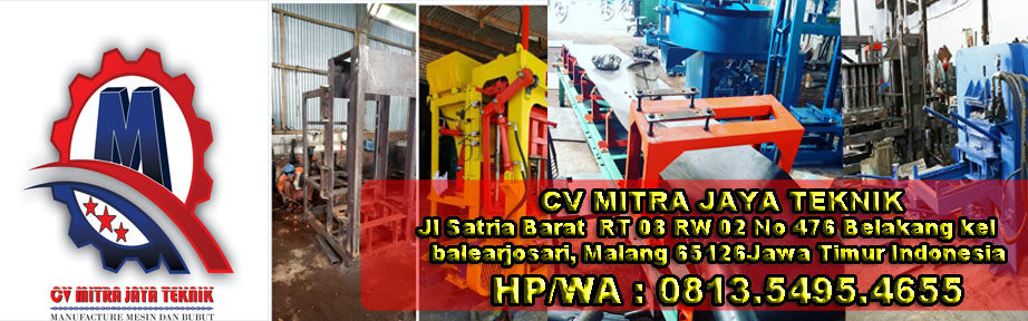 Jual Mesin paving block II mesin press batako 0813.5495.4655
